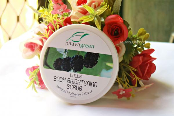 Review Naavagreen Lulur Body Brightening