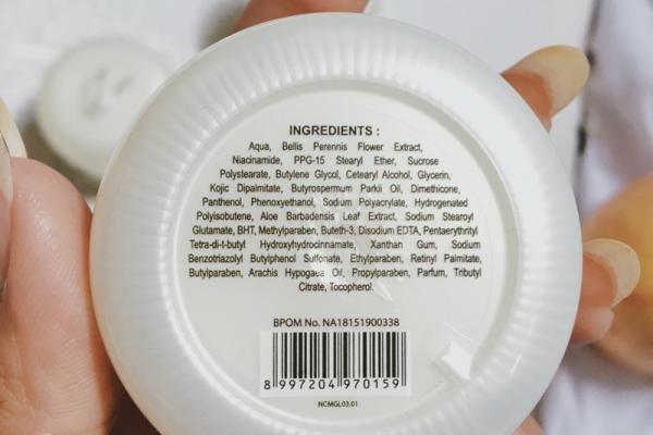 Komposisi/Ingredients